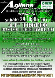 44° Trofeo Fanciullacci 4^ Tappa del 3° Trofeo Metropolitano FI - PO - PT Santomato (PT) @ Circolo Arci Santomato | Pistoia | Toscana | Italia