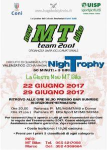 NighTrophy la giostra New MT Bike Valenzatico (PT) @ Bar Sunrise | Toscana | Italia