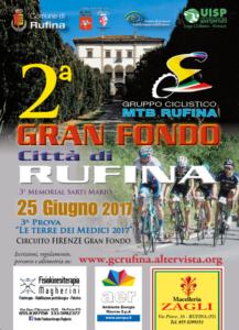 2^ Gran Fondo Città di Rufina 3^ prova Le Terre dei Medici 2017 RUFINA (FI) @ Stadio Comunale | Italia