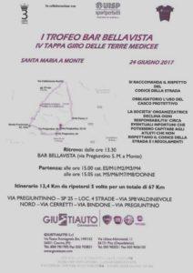 1° Trofeo Bar Bellavista IV^ Tappa Giro delle Terre Medicee Santa Maria a Monte (PI) @ Bar Bellavista | Santa Maria A Monte | Toscana | Italia