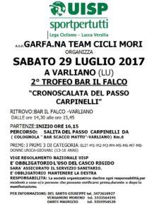 2° Trofeo Bar Il Falco Cronoscalata del Passo dei Carpinelli Varliano (LU) @ Bar IL FALCO | Varliano | Toscana | Italia