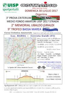 9° Trofeo Bassa Marea 2° Memorial Ubaldo Giraldi 3^ prova Criterium MF Nazionale Bassa (FI) @ Bar Bassa Marea | Zona Industriale di Bassa | Toscana | Italia