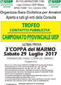 Trofeo Contatto Pubblicità ultima prova 3^ Coppa del Marmo Massa @ Contatto Pubblicità | Massa | Toscana | Italia