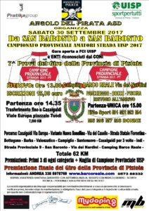 Da San Baronto a San Baronto Campionato provinciale Uisp PT 7^ prova Giro della Provincia di Pistoia San Baronto (PT) @ Campeggio Barco Reale | San Baronto | Toscana | Italia