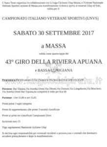 Campionato Italiano Veterani Sportivi UNVS Massa @ Bar Tijuana | Massa | Toscana | Italia