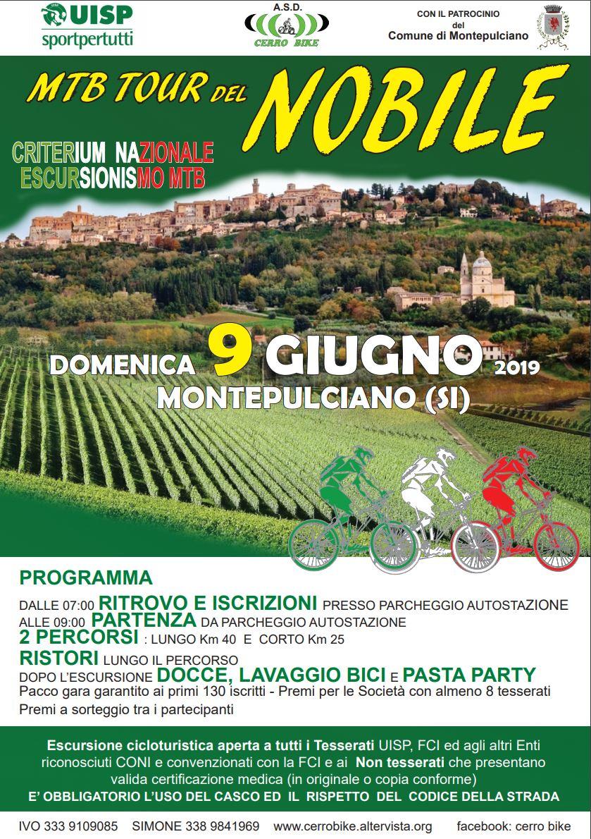 09 Giugno Montepucliano 2019 MTB Crit Naz Escursione - L